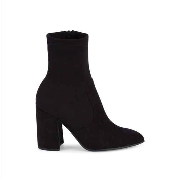 Steven Madden Taught Faux Suede Heeled